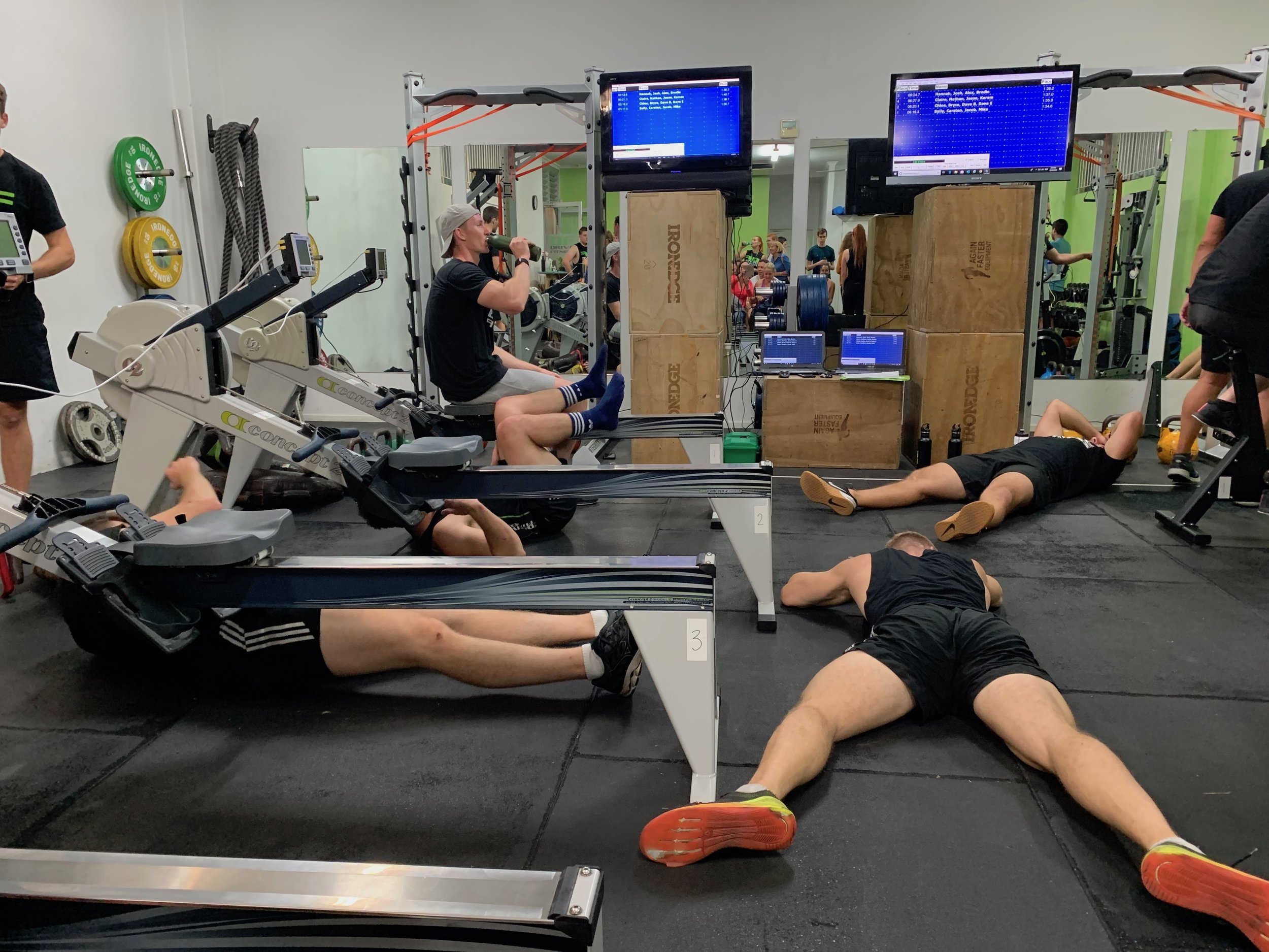 Drive Fitness Row & Ride Duathlon 2019 Post Trainers Race