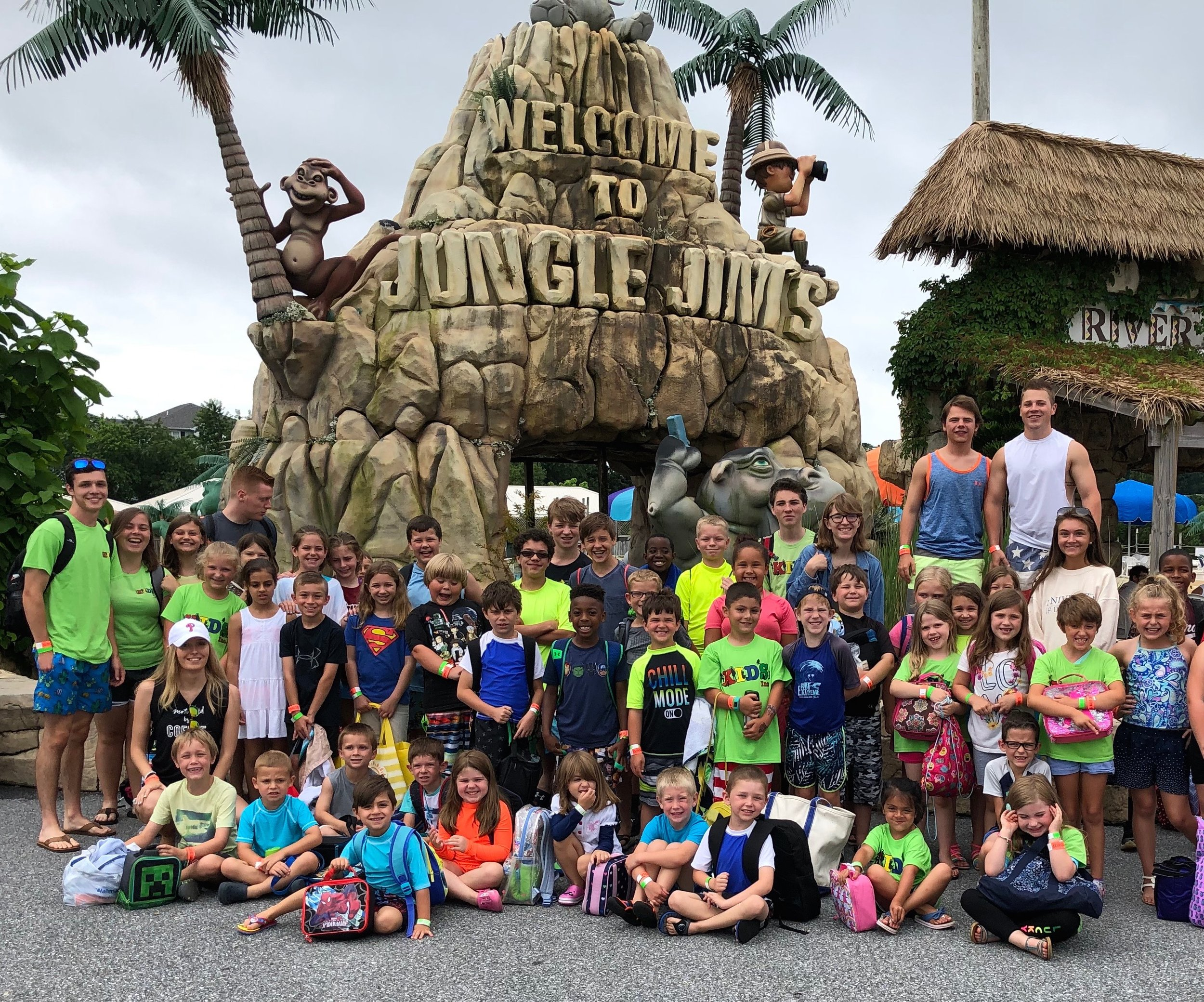 The summer field trip to Jungle Jim's Waterpark is always a favorite!