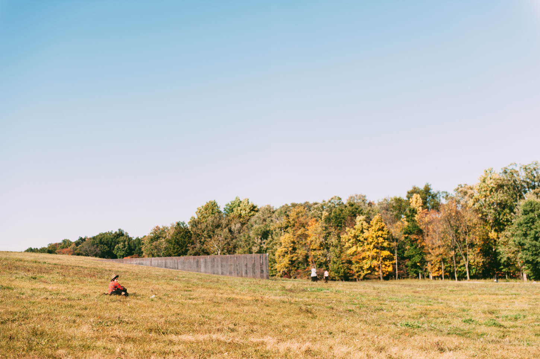 Richard Serra's Schunnemunk fork