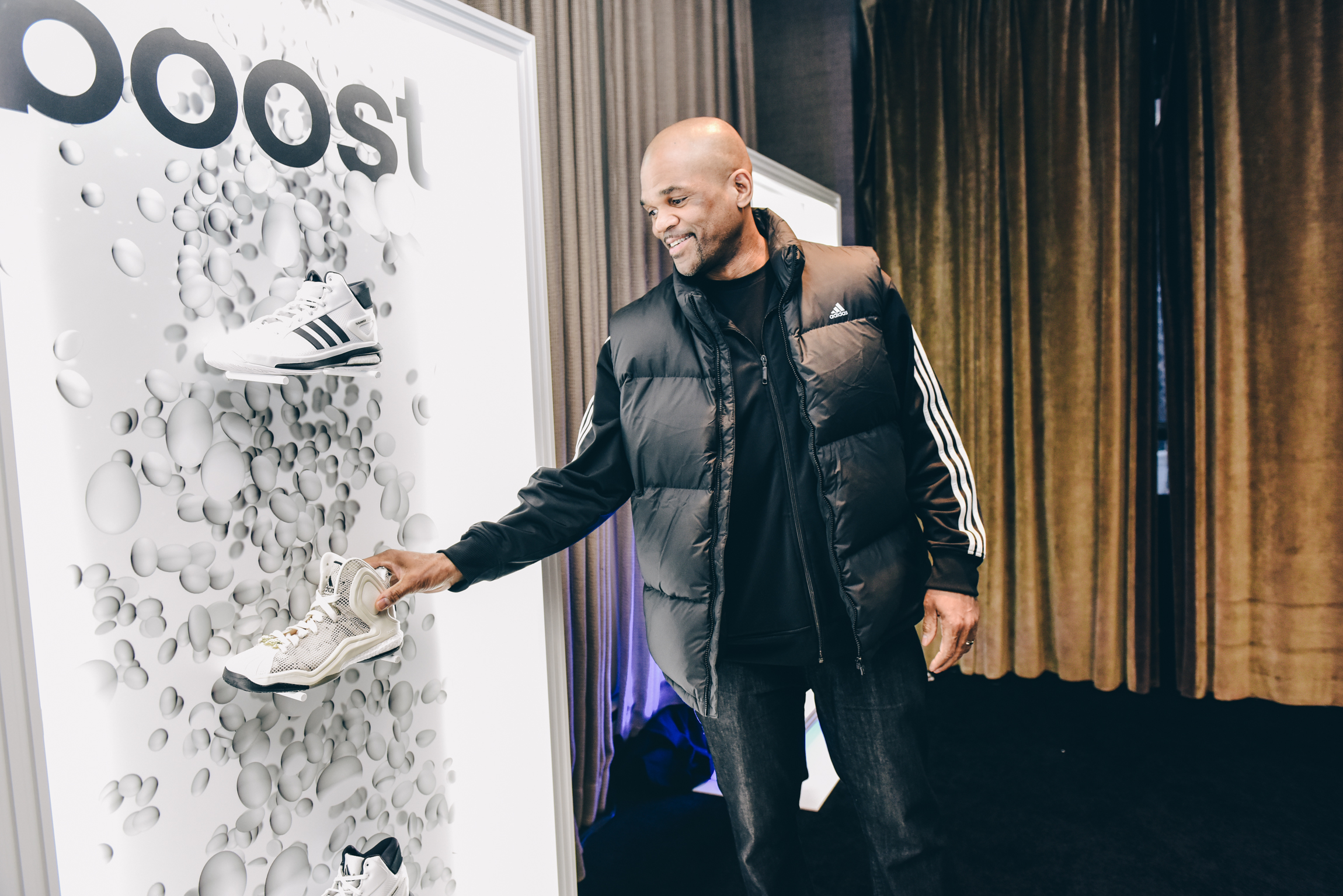 DMC checks out the new adidas footwear