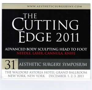 Sherman, JE, Jugenberg, M, Devgan Verdonck L. Complications in Buttock Augmentation- The Cutting Edge Aesthetic Surgery Symposium 2011 Baker-Aston meeting. New York, NY, 12/3/11.