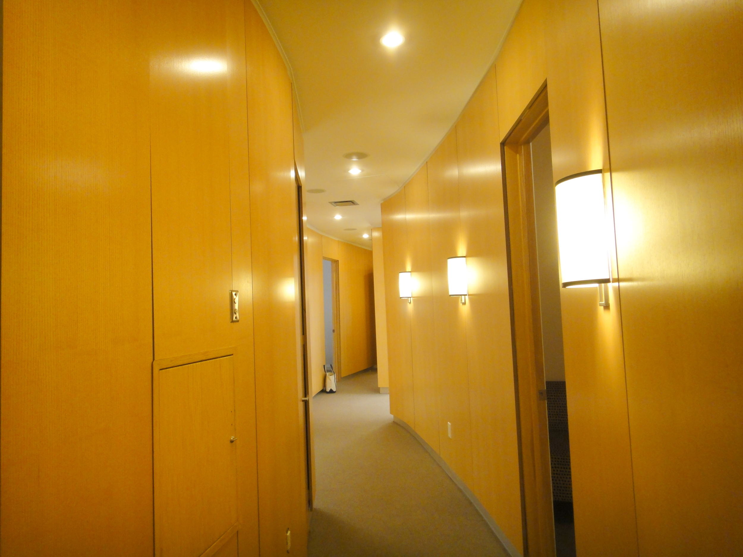 Maintain your privacy in the curved corridors of our discreetly designed floorplan.