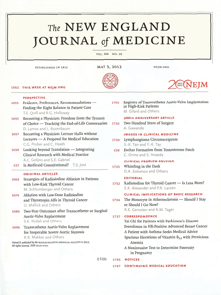 Click to read the original manuscript in the New England Journal of Medicine