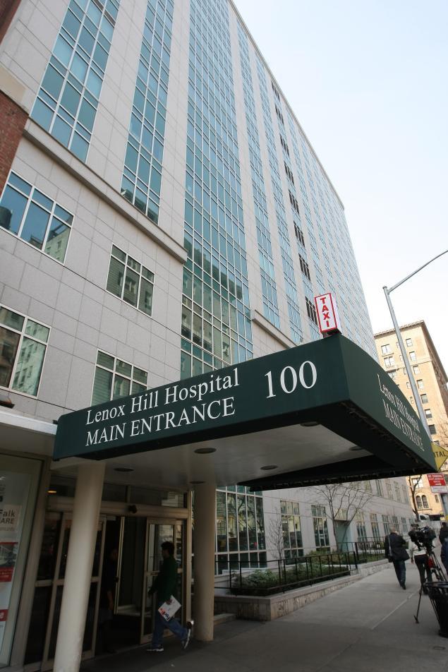 Lenox Hill Hospital. Image credit New York Daily News.