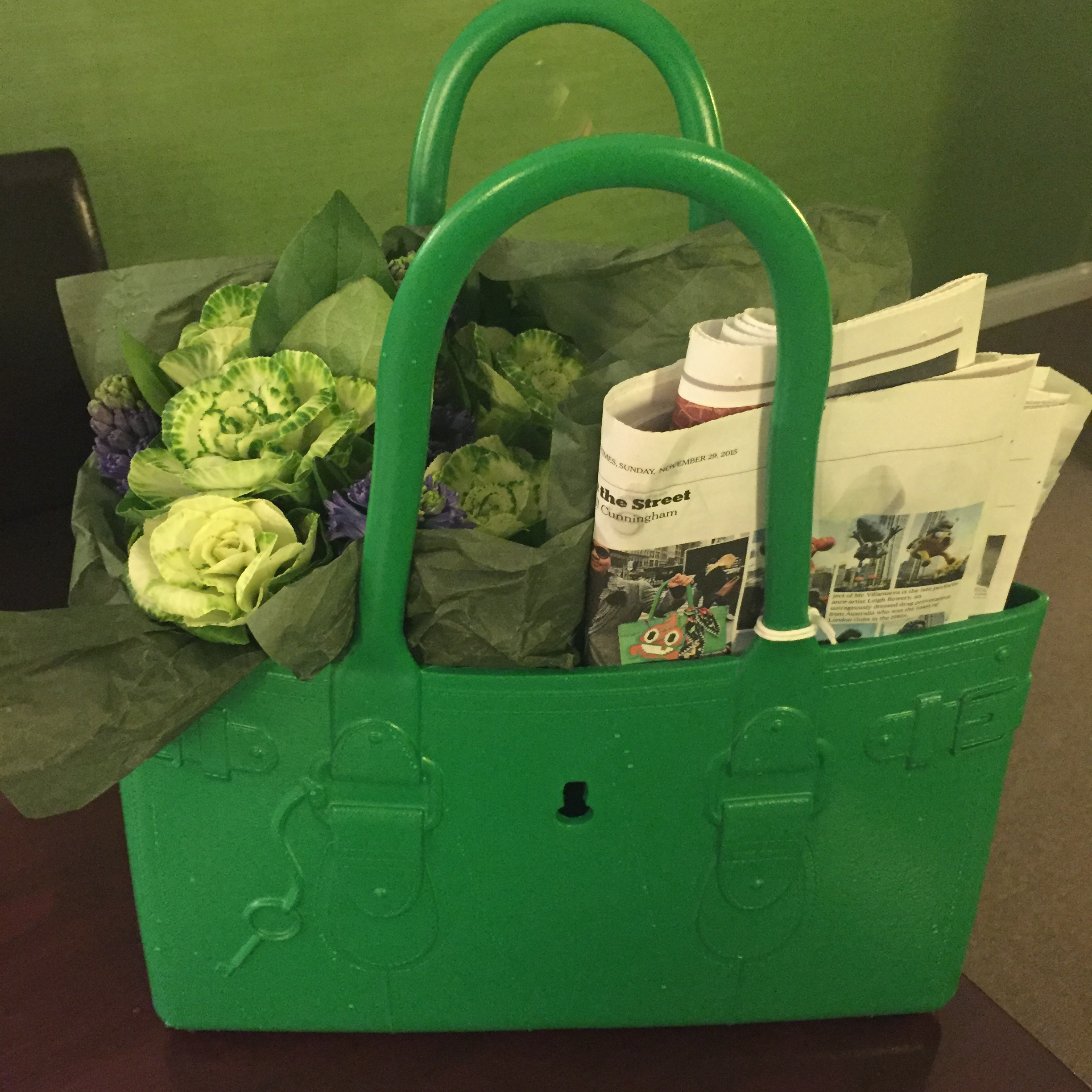 Gift bag from a tummy tuck patient