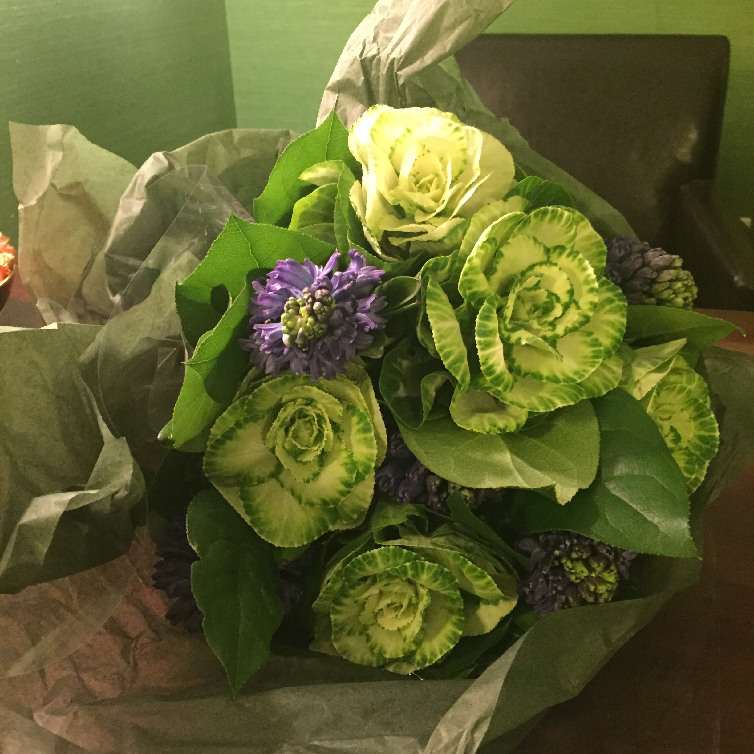 Flowers from an abdominoplasty patient