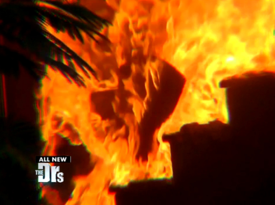 Part 1: Woman Set on Fire by Jealous Ex; click to view segment