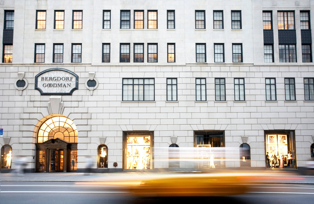 Bergdorf Goodman, 5th Avenue, image credit New York Times