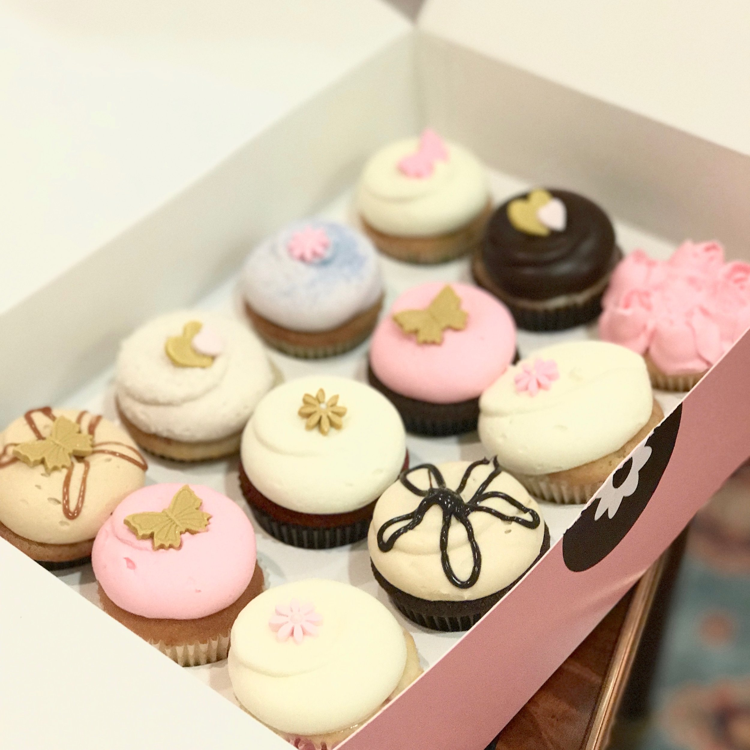 Georgetown Cupcakes from cosmetic patient, 3/2017