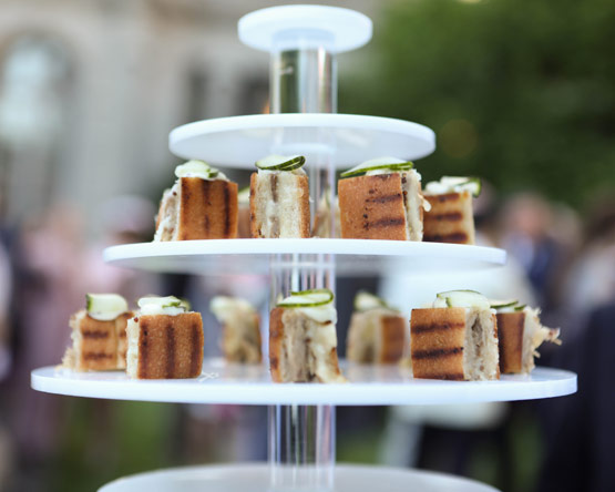 The Frick Spring Garden Party; catered by the Creative Edge.