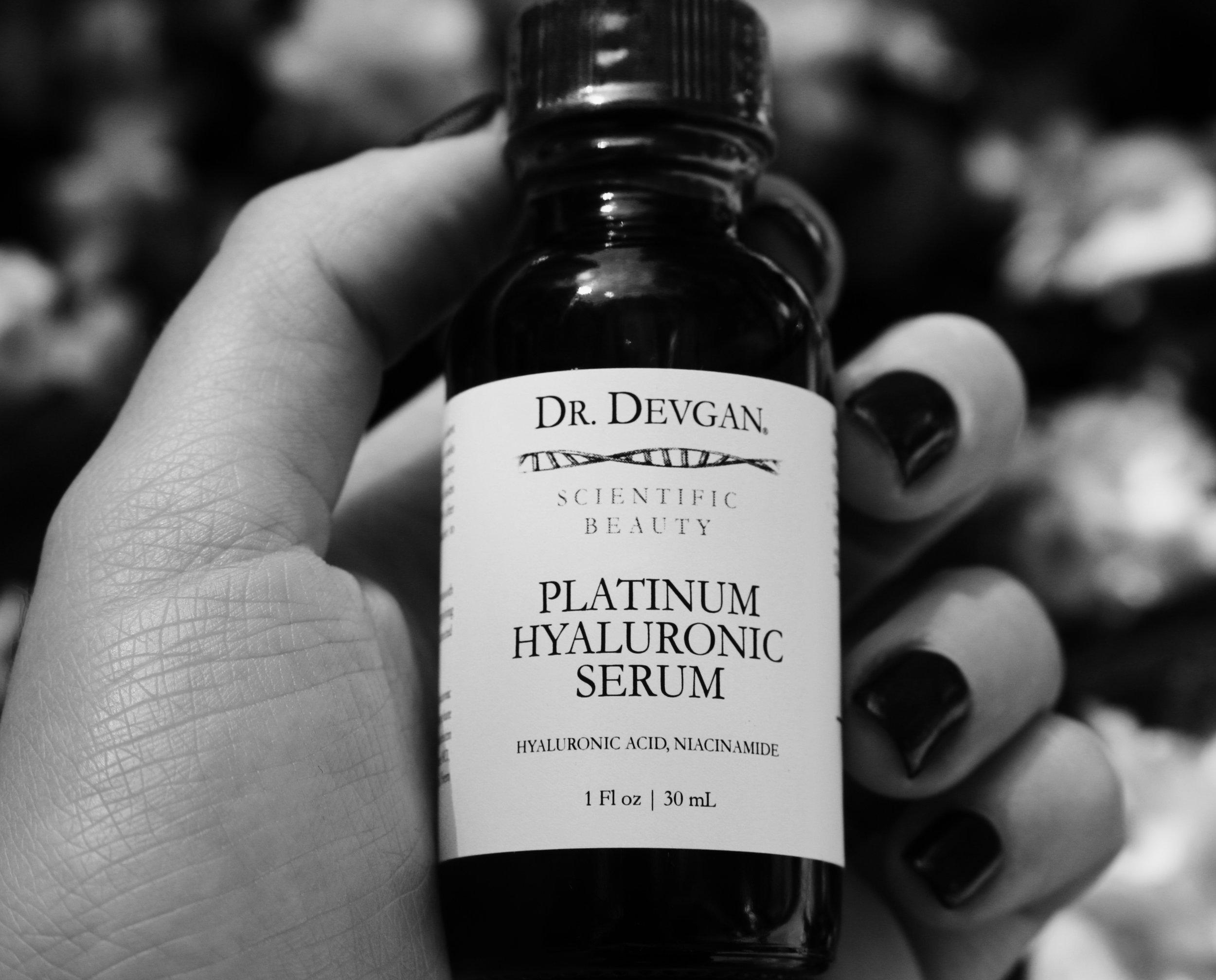 Scientific Beauty's Platinum Hyaluronic Serum