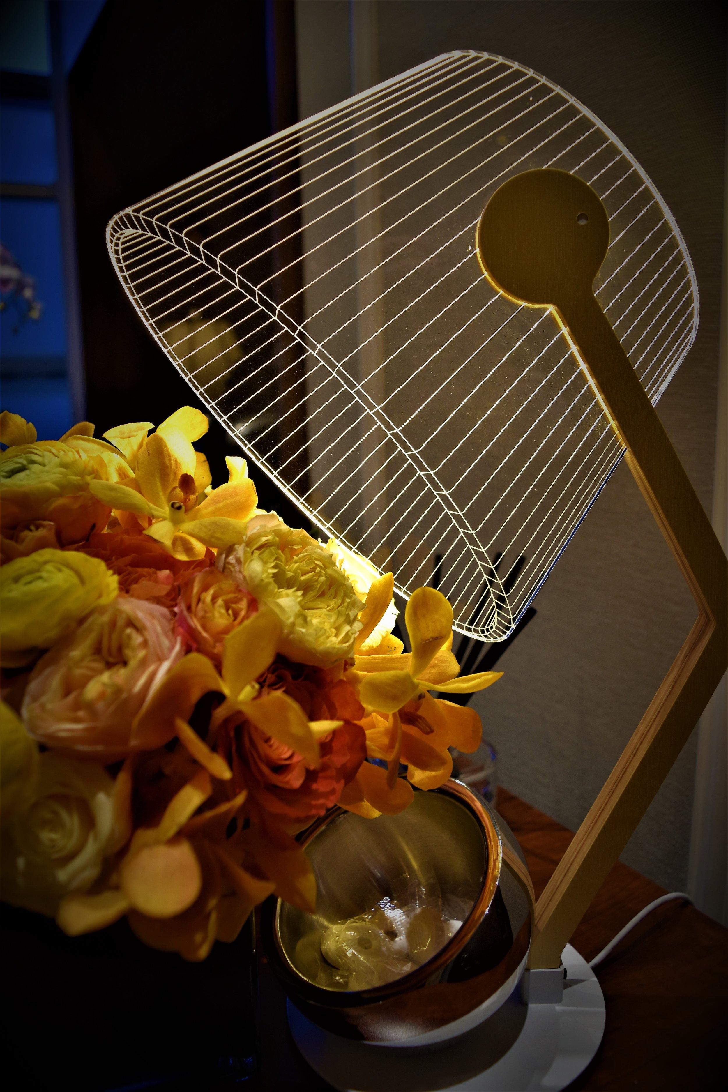 Studio Cheha's ZIGGi 2D Lamp