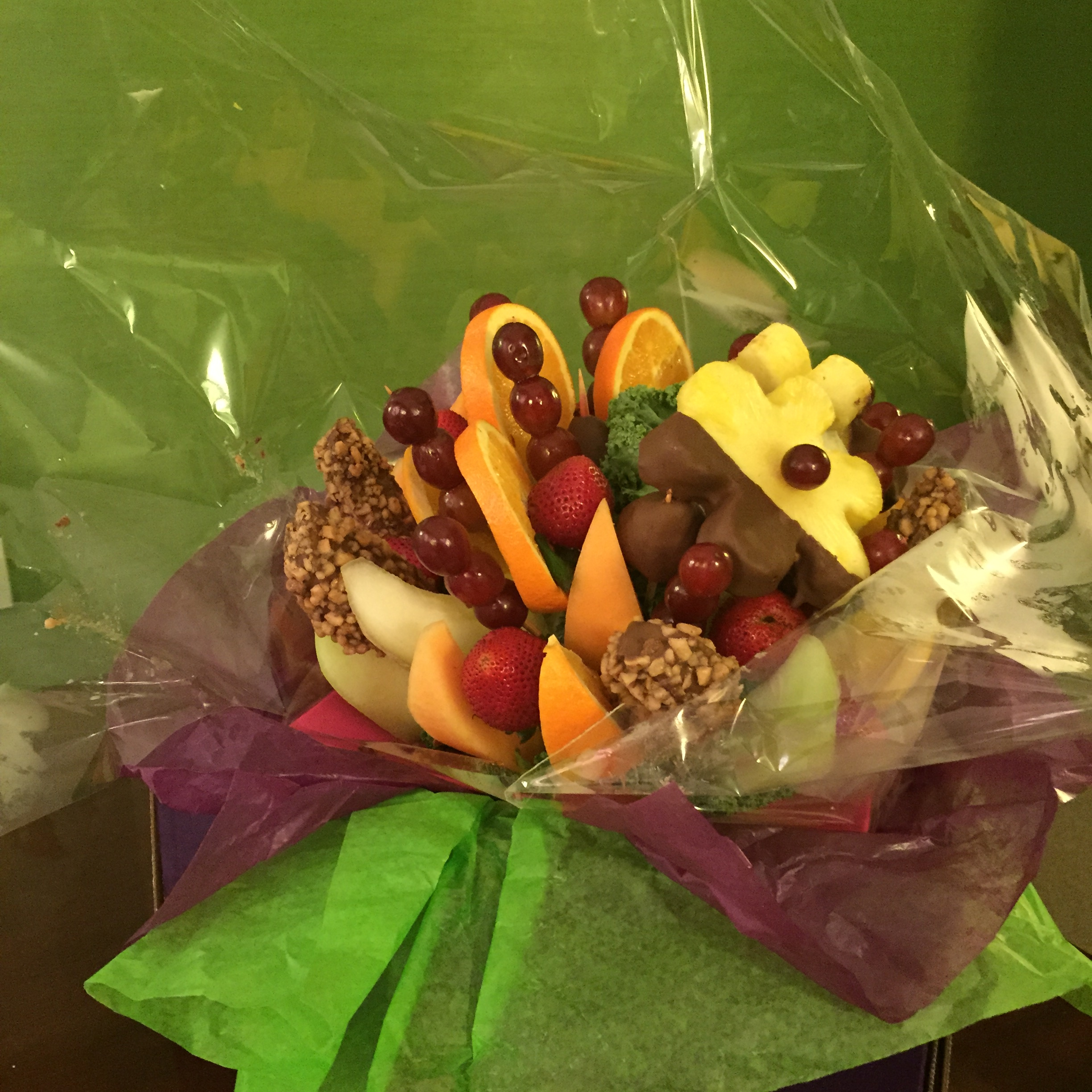 Fruit basket from a body contouring patient