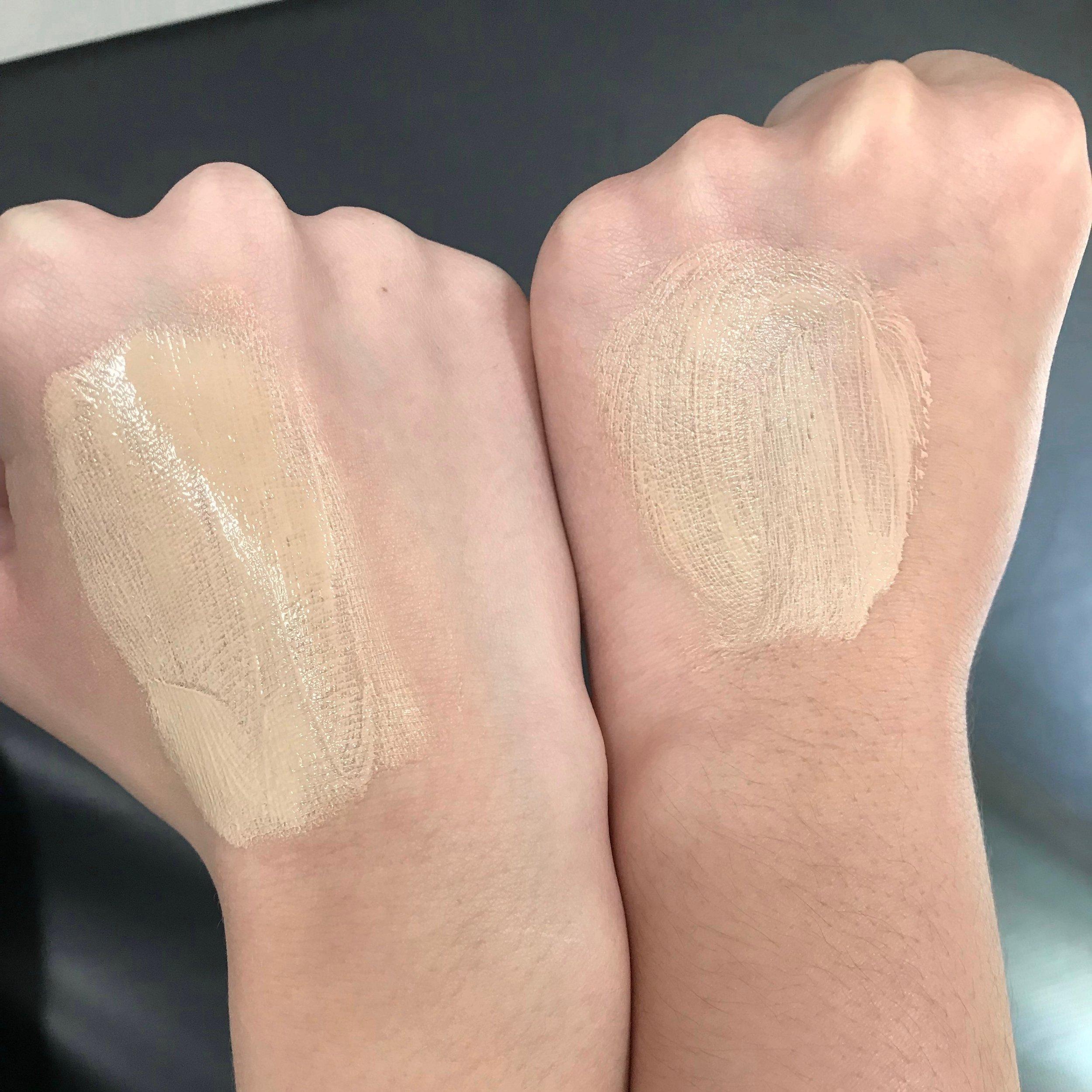 Platinum SPF 45 Daily Tinted BB Cream immediately on application.