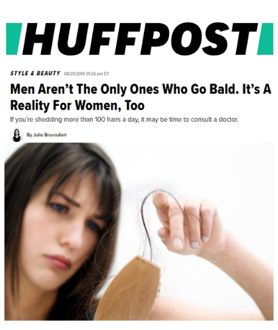 Dr. Devgan featured in Huffington Post article on female patterns hair loss. She discusses ways to treat it and well as contributing factors that people may not be aware of
