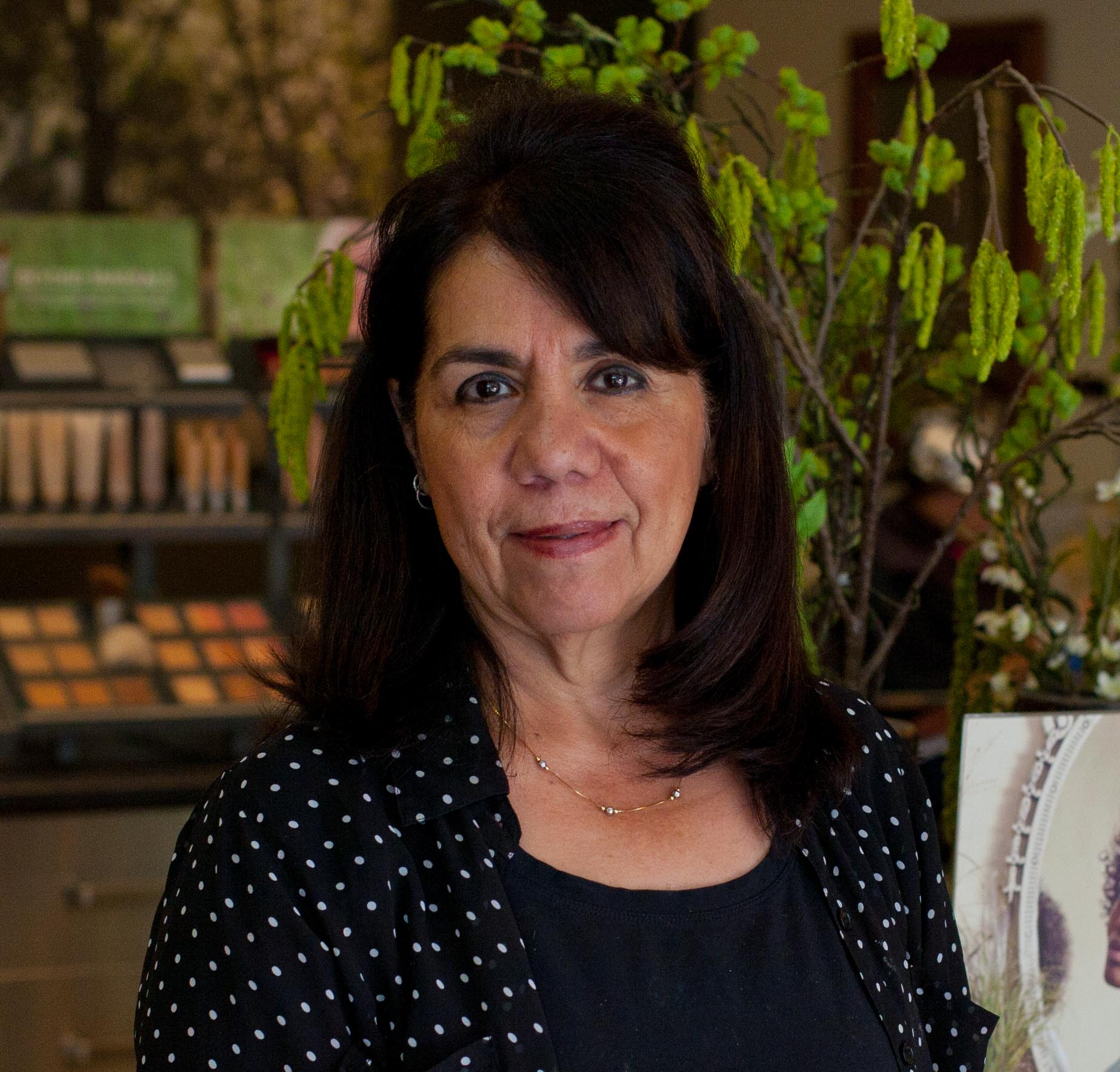 Maria - Maria is a hair legend that has a huge following of patrons of her craft. She has over 20 years of experience styling hair. She is also a licensed aesthetician. Her skincare rituals in the spa room leave you glowing.