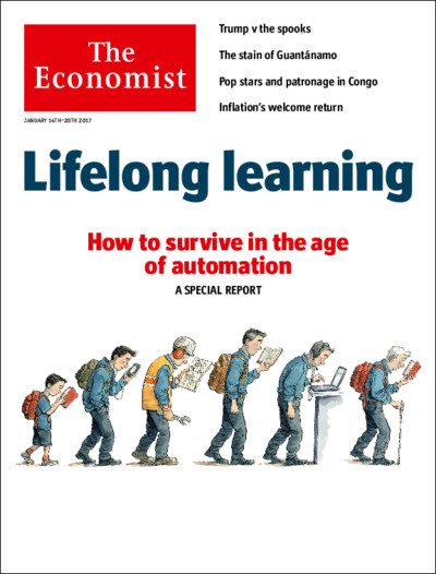 Check out the Special Report: Lifelong Education in the latest The Economist issue