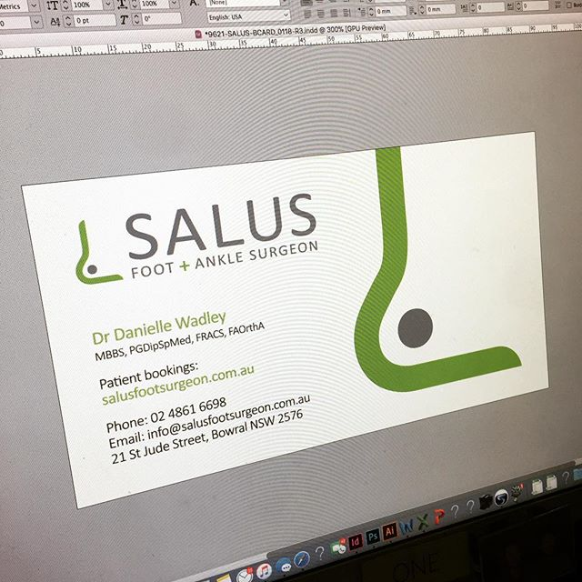 Logo and stationery design for a local surgeon. Happy with how it turned out.