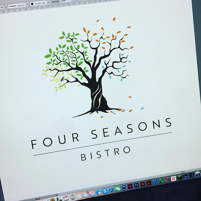 Logo design for a new restaurant in Mittagong (opening soon!)