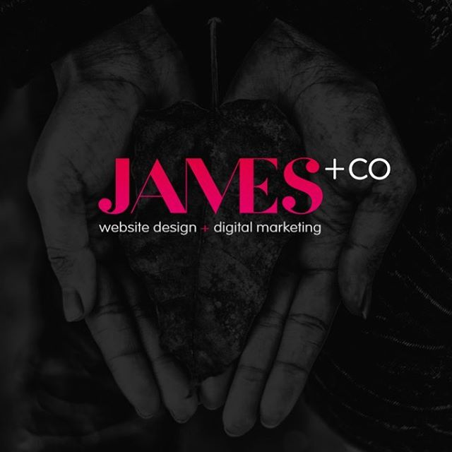 Recent logo design for our web partner @jamescreative.co ... if you need a website that is amazing AND works ✅... give Sarah at jamescreative.co a call 😊