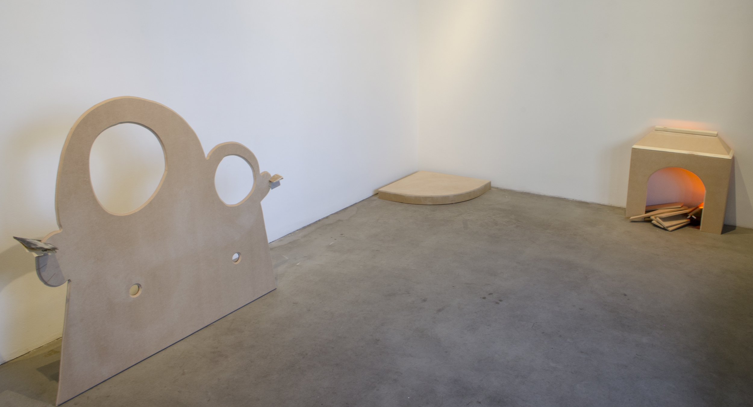 Installation view, photo courtesy of Emma Benschop