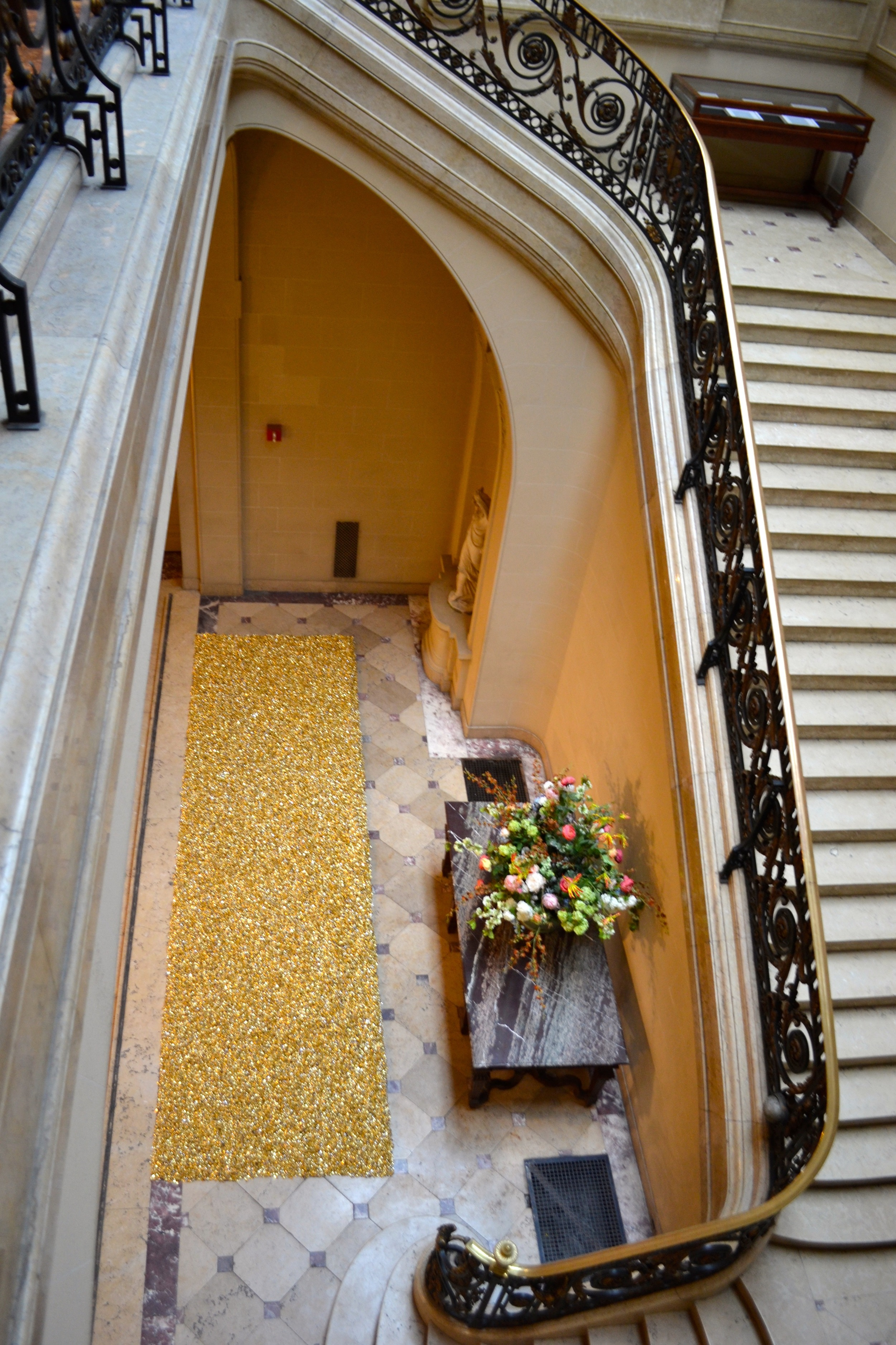 Installation view, Felix Gonzalez-Torres, Great Hall Exhibition, IFA, Spring 2015