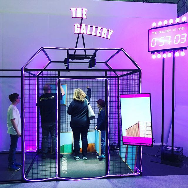 The Gallery is Open but the Armory Show closes today. Get thee to the pier! #contemporaryart #artfairs