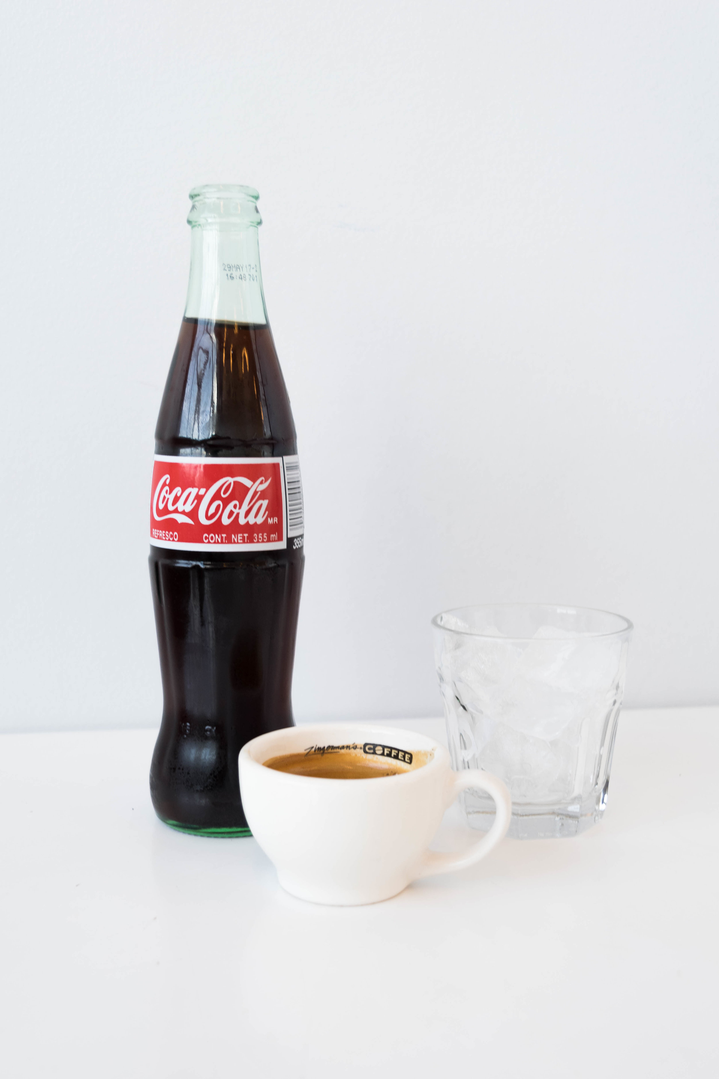 The most unique option is a Coca-Cola over ice with a shot of espresso. I was hesitant to try this but our East Lansing gelatista insisted that I would love it. She was right! It was the perfect combination of the tanginess of Coca-Cola and the espresso aftertaste. It takes a brave person to try it, but is 100% worth it.