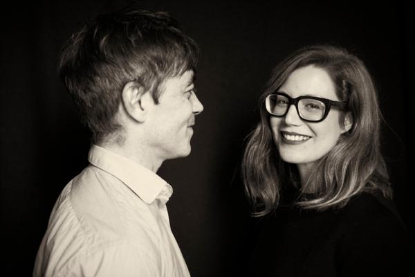 Stephane Le Sciellour and Rachel Graham
