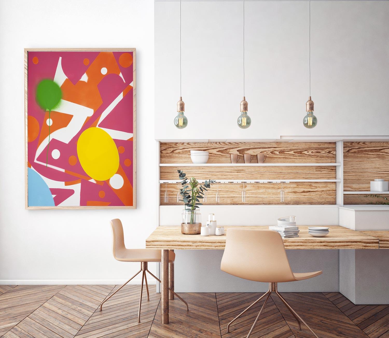 Bubblegum Pop - Canvas and Paper Prints Available on SaatchiArt.com