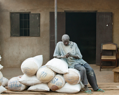 West Africa's largest grain market: the best visuals I found.