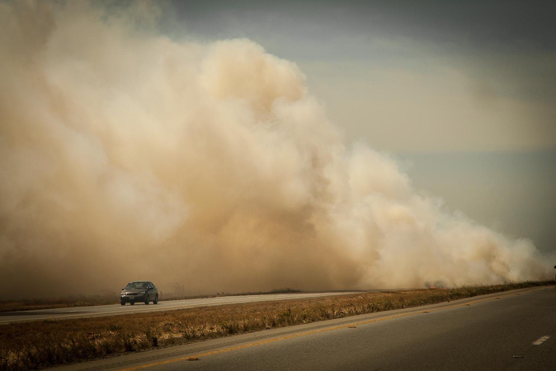 Fire in Nevada.