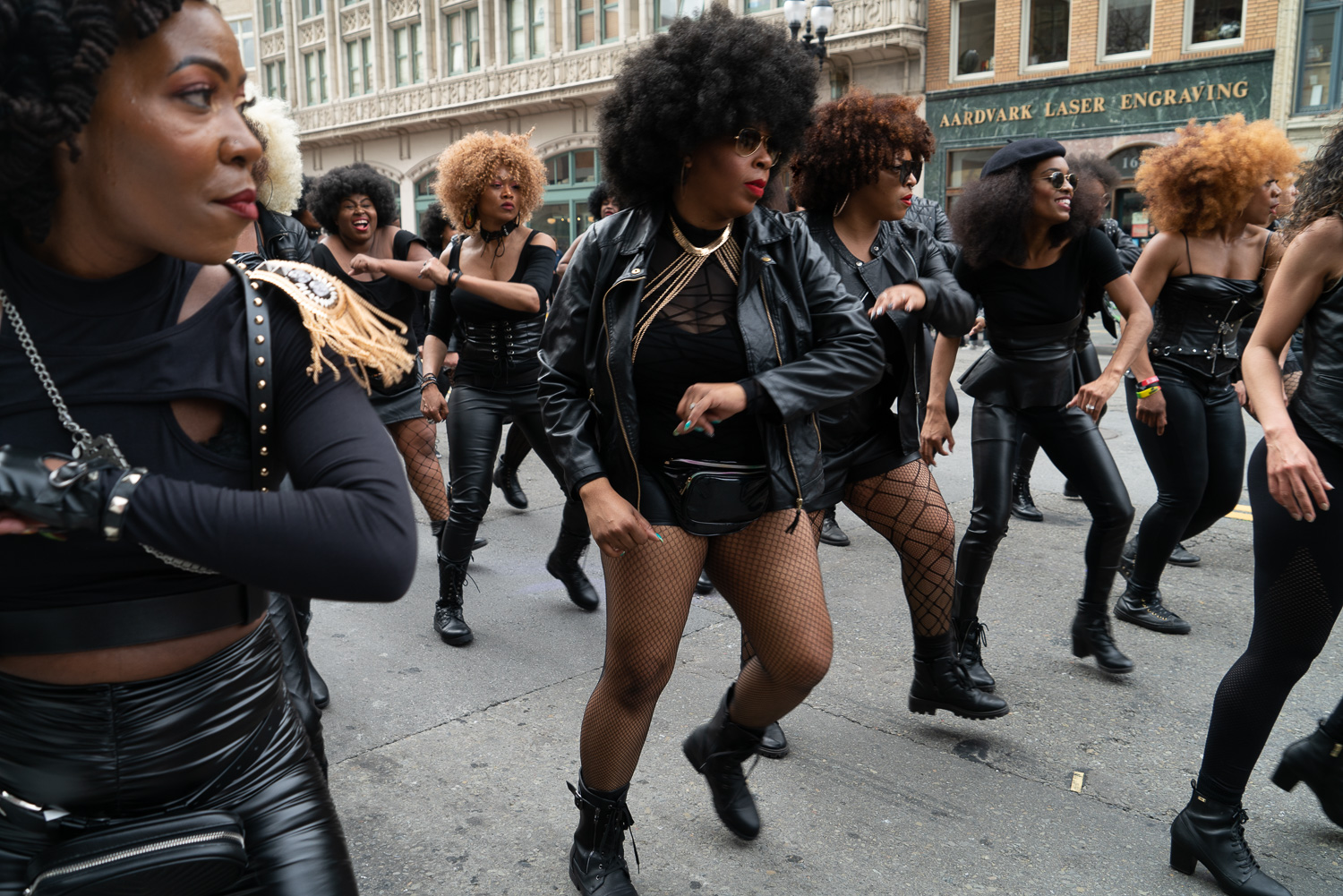 Black Joy Parade: Anyone know what group this is?