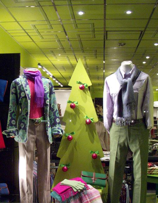 J. McLaughlin Holiday Merchandising 2009   North East Locations  Visual Merchandising Intern