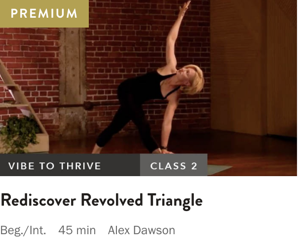 Online Videos — Alex Dawson Yoga