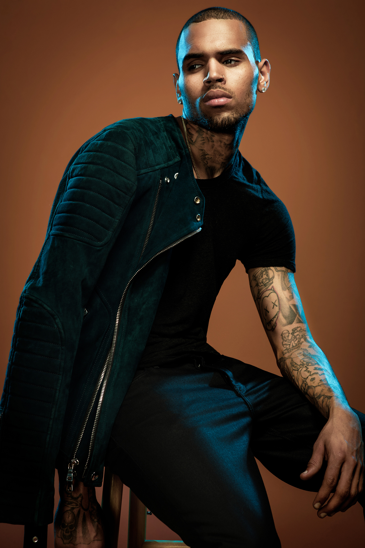 Chris Brown Photographed by Bradford Rogne