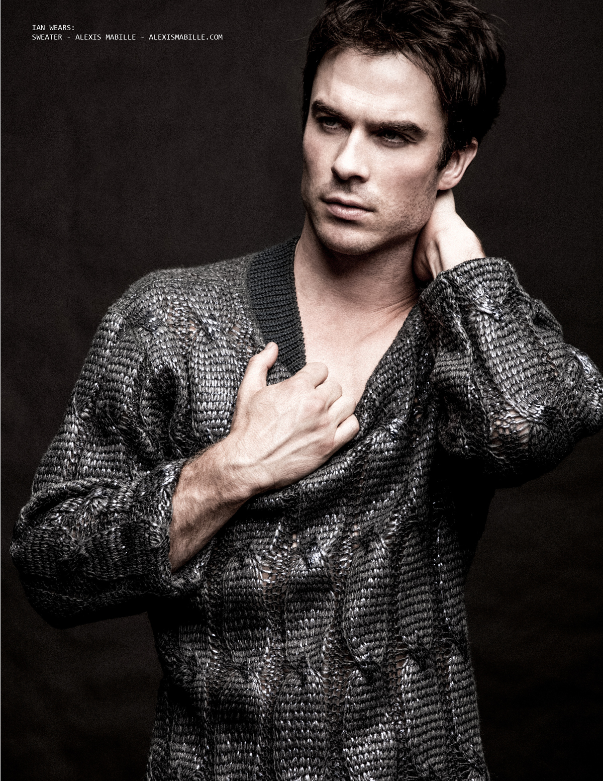 Ian Somerhalder Photographed by Bradford Rogne