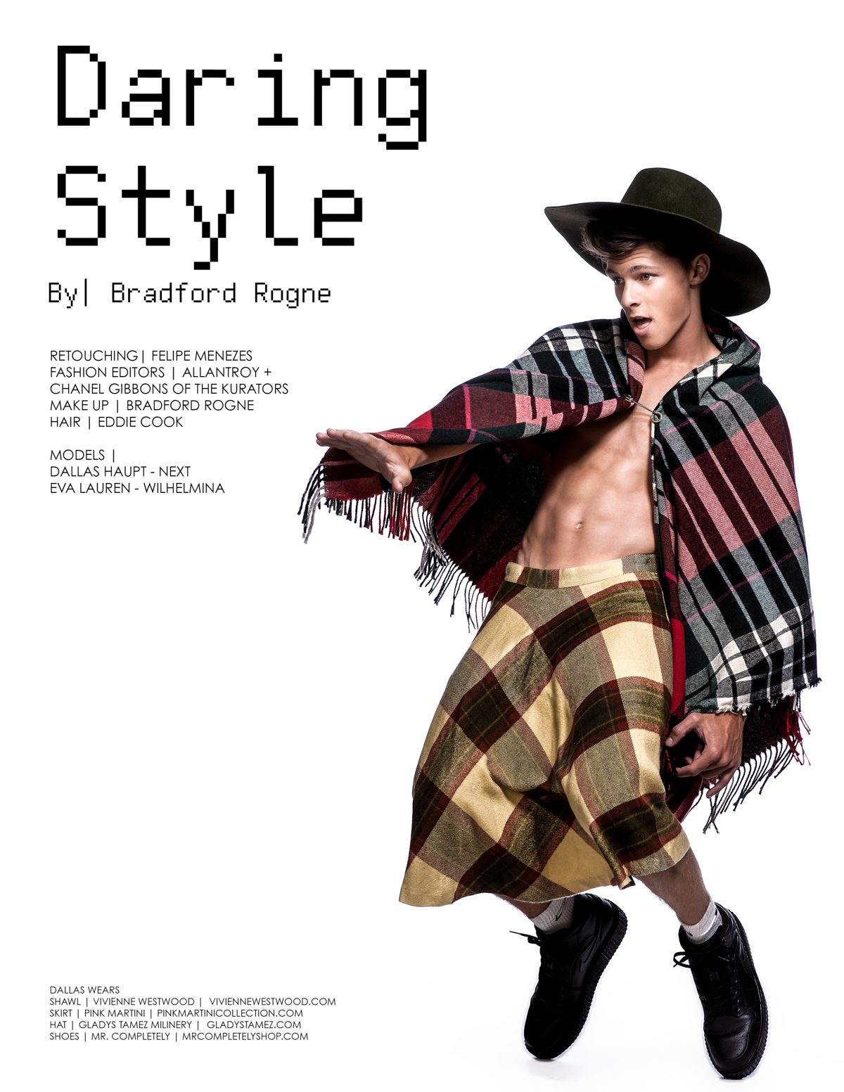 Daring Style Photographed by Bradford Rogne