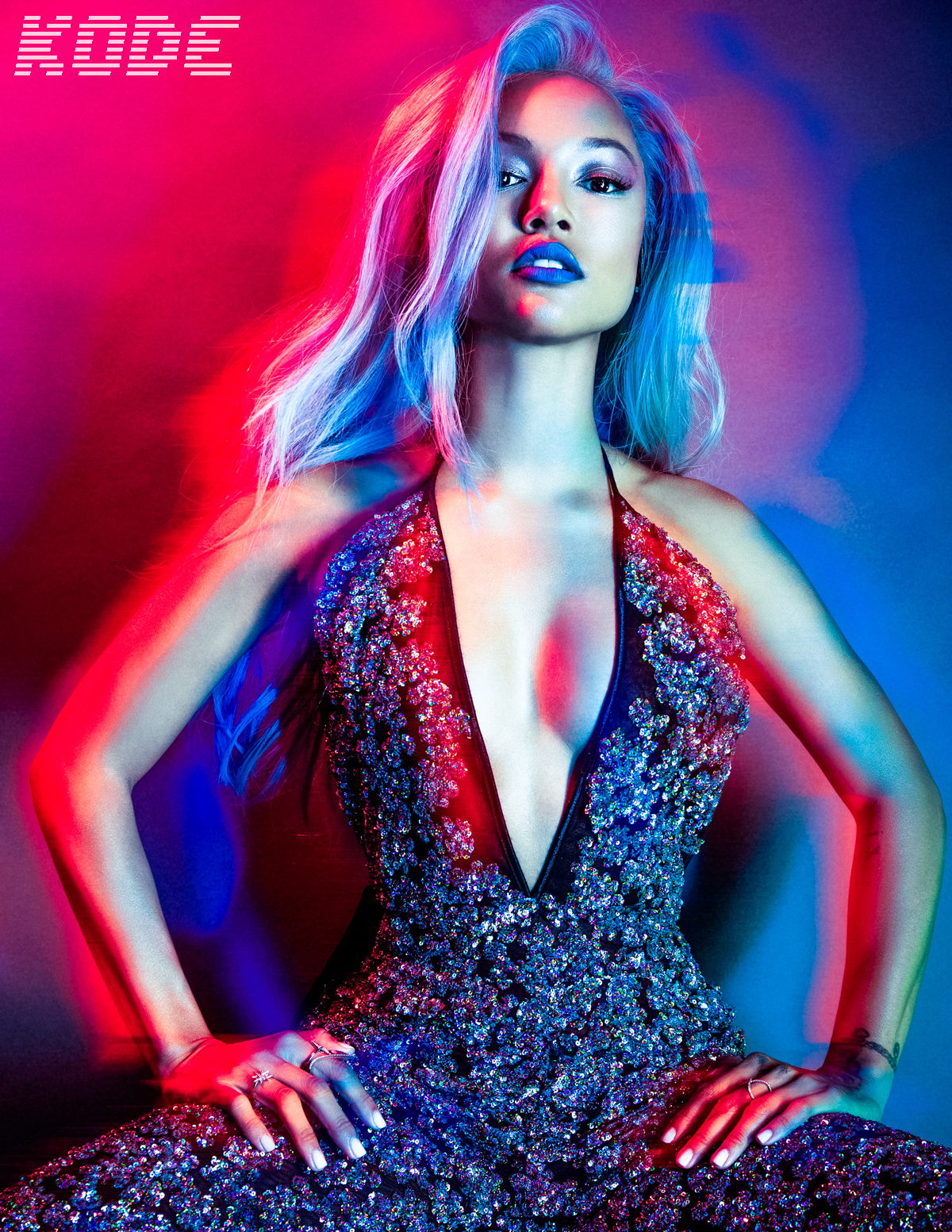 Karrueche Tran for Kode Magazine Photographed by Bradford Rogne 2016-0001_Tear.jpg