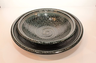 Kim Morgan Shallow Dish $52 21mm x 30mm, $67 220mm x 50mm