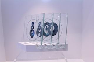 Paua Mania Glass Coaster Set of Four $33 - Stand $12.JPG