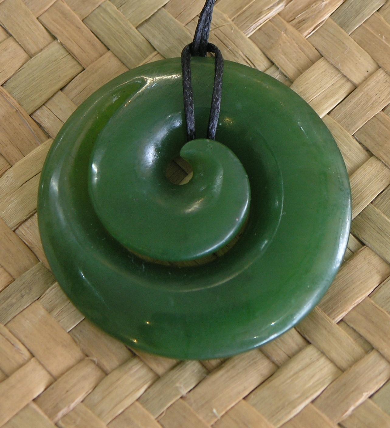Koru (Spiral) - 35mm x 35mm.