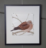 Craig Fletcher Ceramic Releif 'Dove' $2050 - 380mm x 530mm (outer frame).jpg