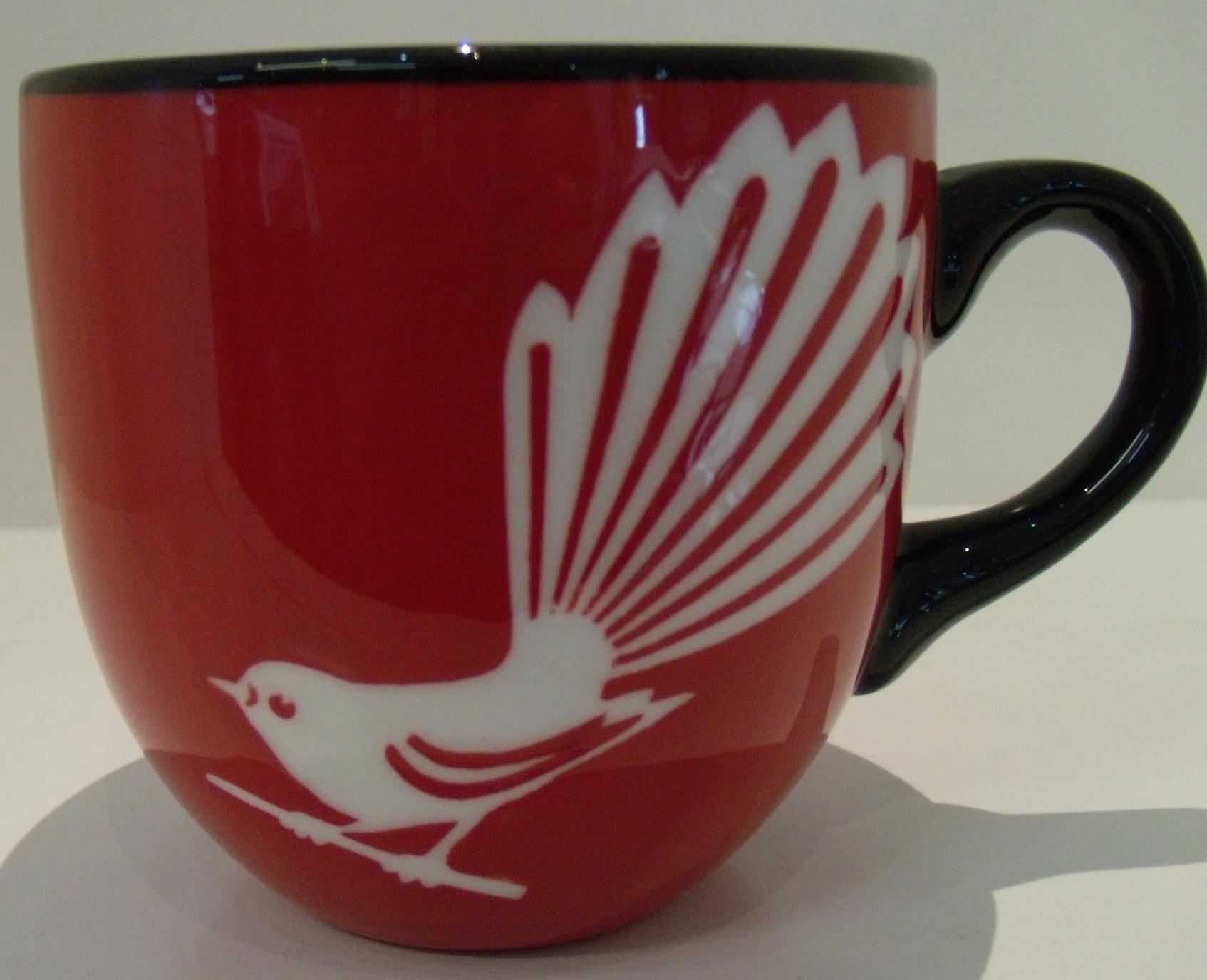 Fantail Mug $35 Diameter 95mm x 90mm h
