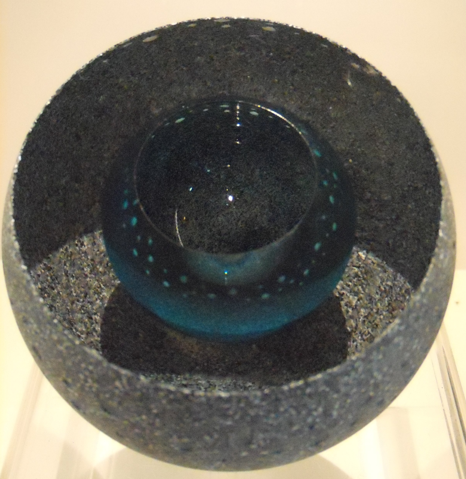 Granite Geode (constellation pattern) $269 size Med. Measures approx 100mm diameter x 90 mm h