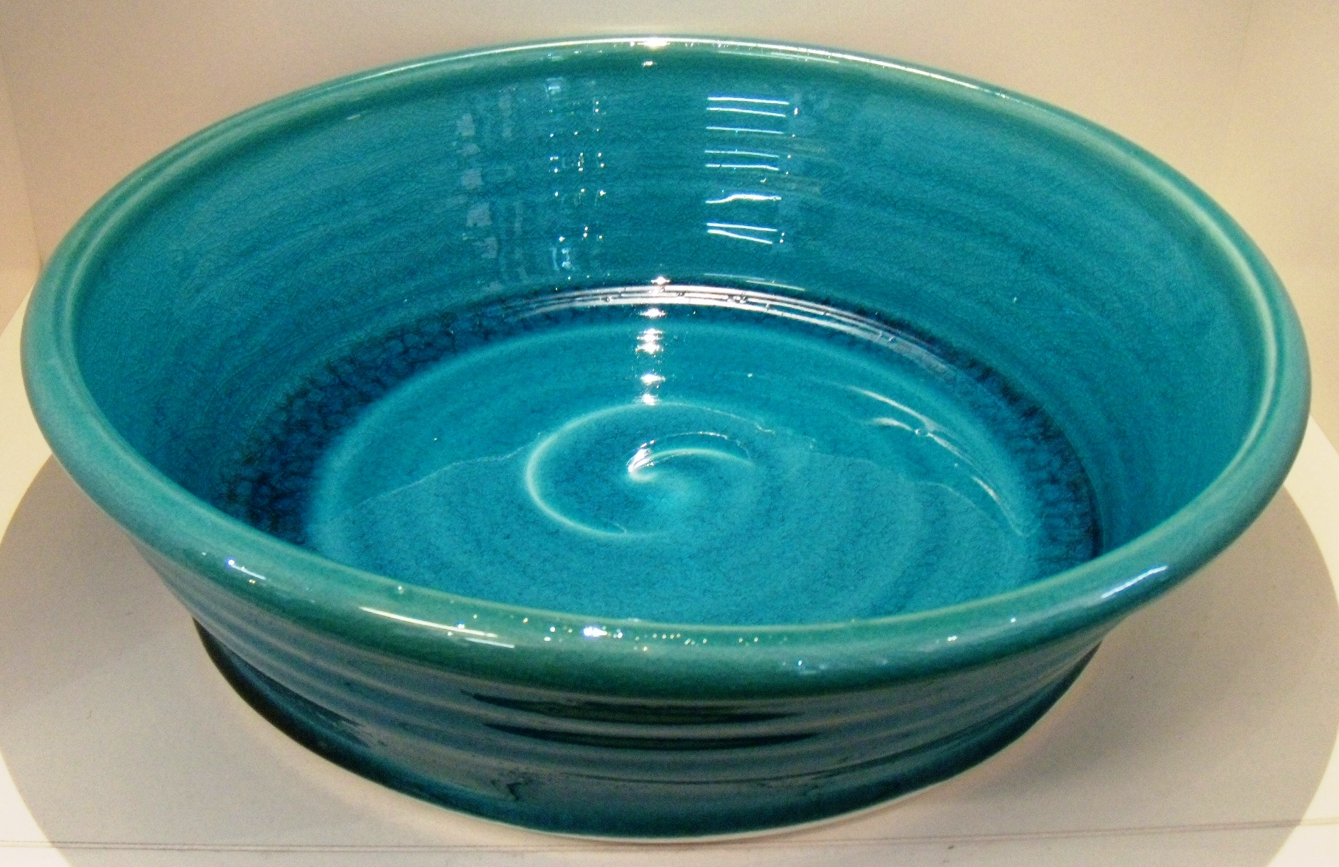 Classic Turquoise Salad Bowl $67 Measures 280 mm diameter x 70 mm h