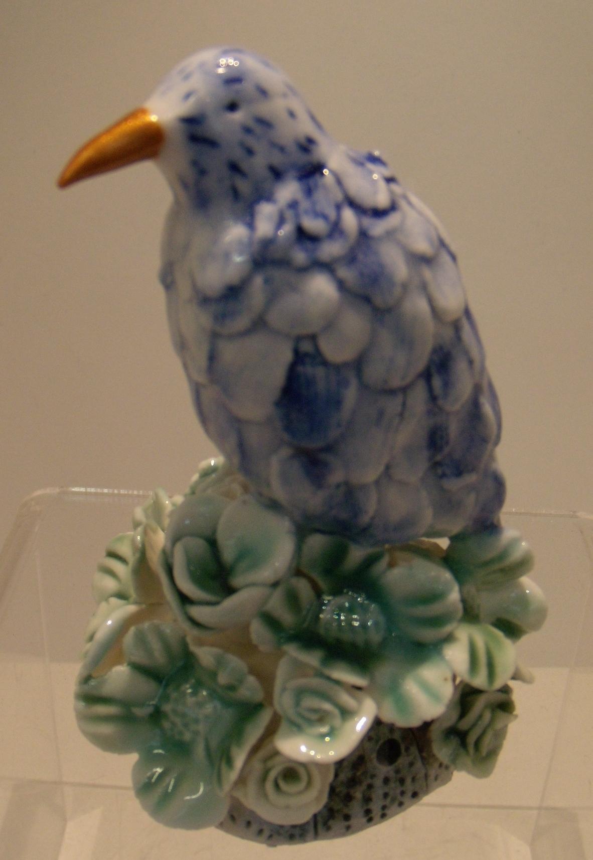 Bluebird Sculpture $160 Measures 75 mm diameter x 110 mm h
