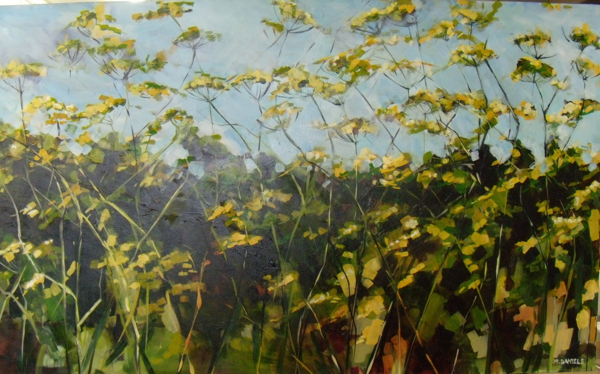 Fennel Flowers $3200 Measures 1530 mm w x 910 mm h