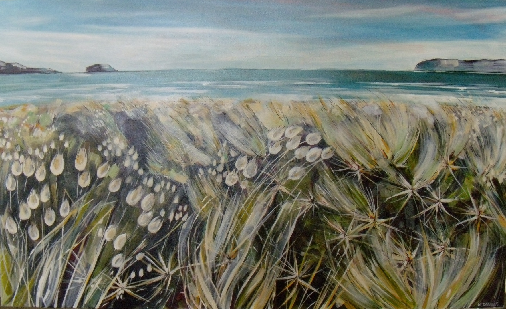 Early Morning Dunes $3200 Measures 1530 mm w x 910 mm h