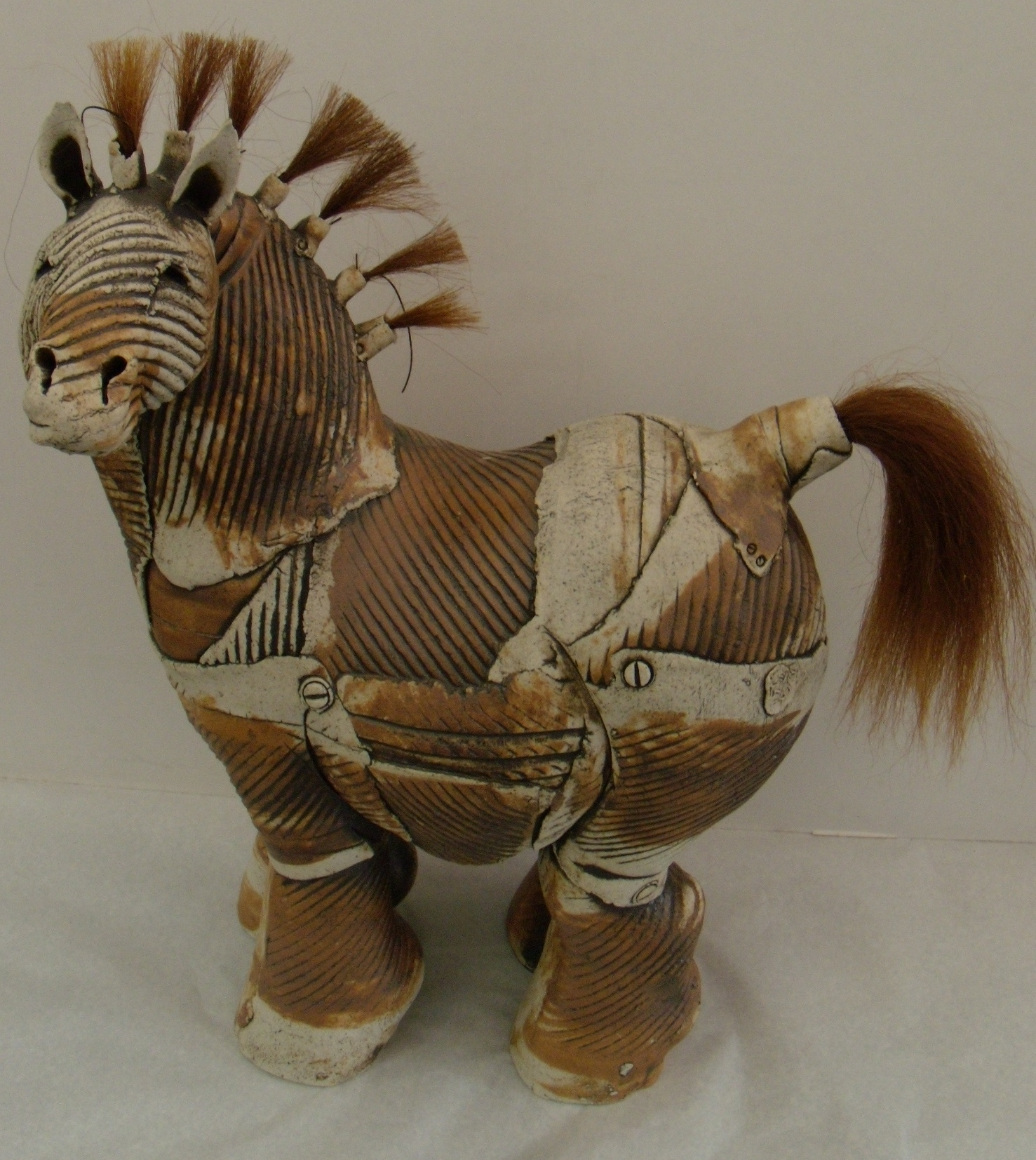 Brown Horse $380 Measures approx 300 mm w x 420 mm h
